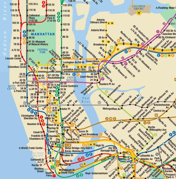 Brooklyn To Manhattan Subway Map.I Love The New York Subway Catina Adams Midwife